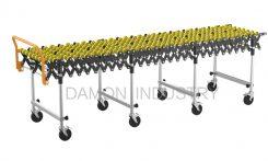 non driven skatewheel expandable